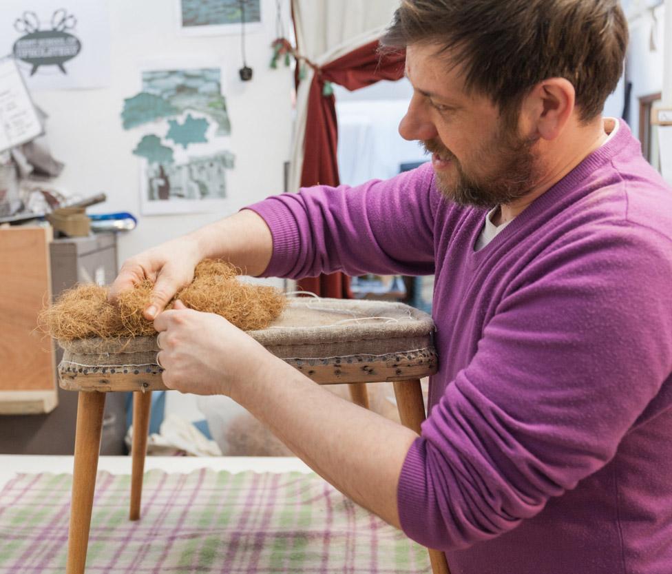 Alex Law - Kent School Of Upholstery